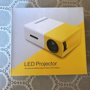 Brand new LED projector set